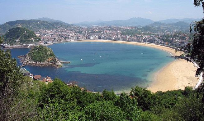 Playa de la concha en san sebasti n - Clima en donostia san sebastian ...