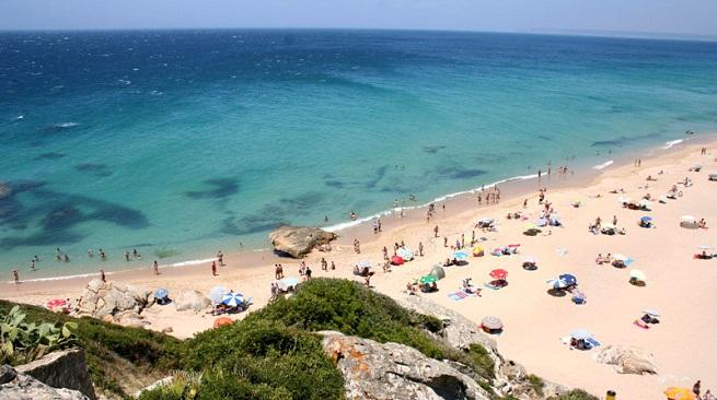 Playa de Zahara de los Atunes en Cádiz