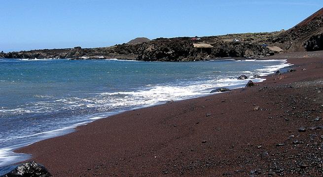 Playas De El Hierro En Las Islas Canarias