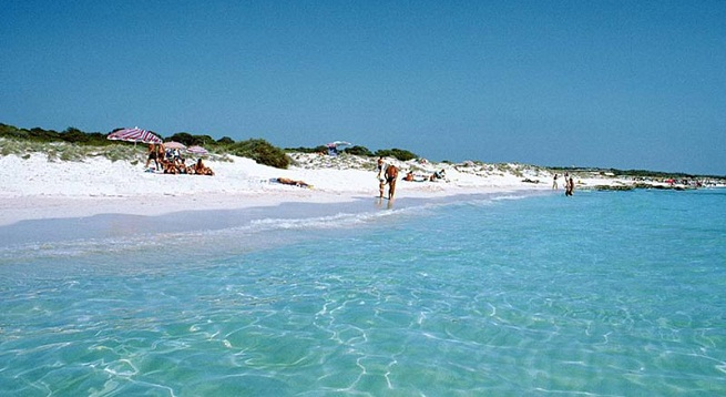 playas espana tranquilas