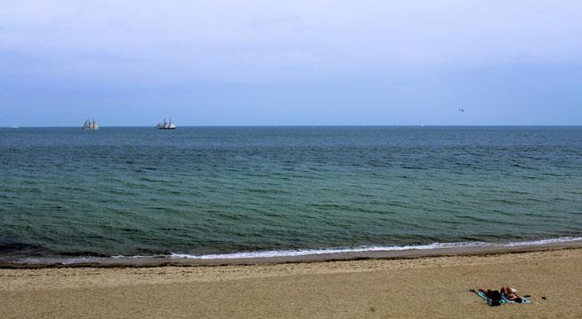 """La playa de la película """"Tiburón"""""""