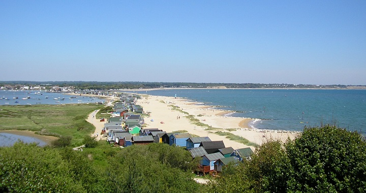 playa Hengistbury Head