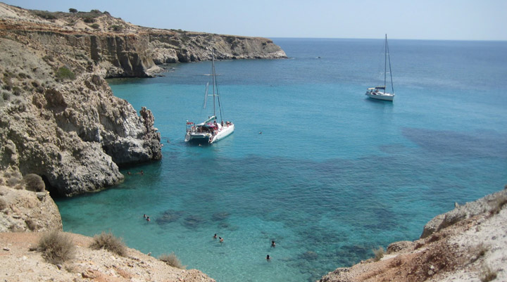 La cala Tsigrado, la cala más increíble de Grecia