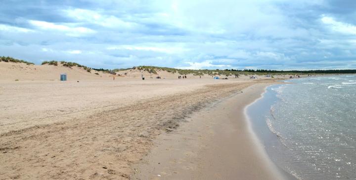 La playa más larga de Finlandia