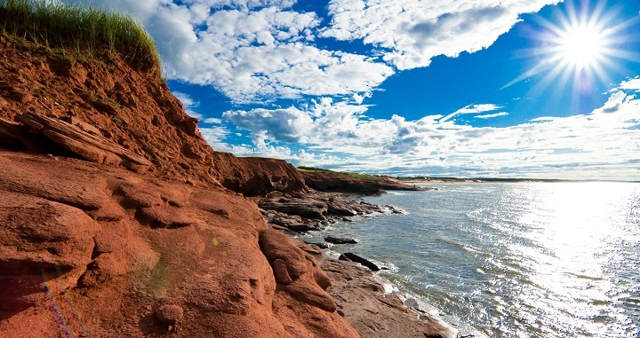 Red Sands Shore Canada