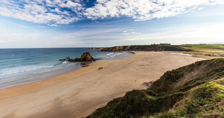 Playa de Penarronda Asturias