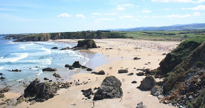 Playa de Penarronda Asturias1