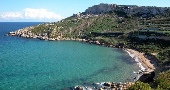 Selmun Bay Malta