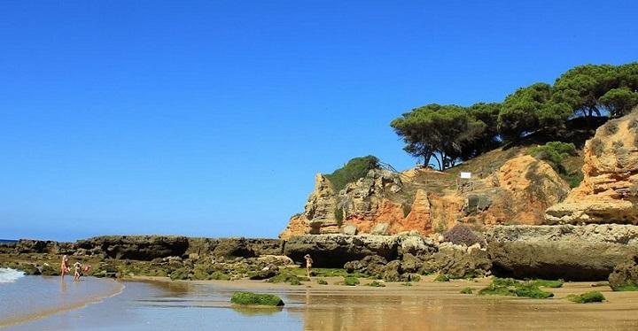 Praia dos Olhos de Agua Albufeira