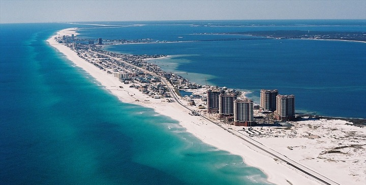 Panama City Beach To Pensecola