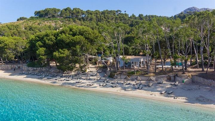 Playa Formentor, un precioso arenal al norte de Mallorca