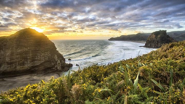 Piha Beach Nueva Zelanda