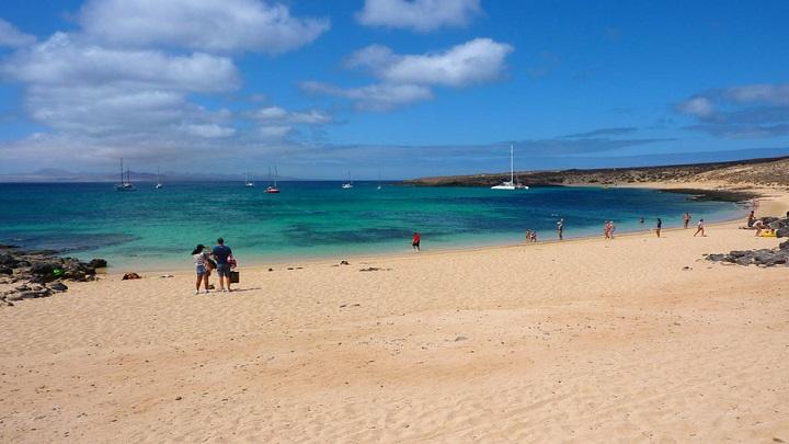 playa la francesa Lanzarote