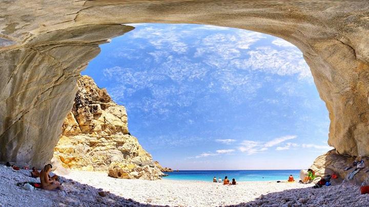 Playa Seychelles Grecia
