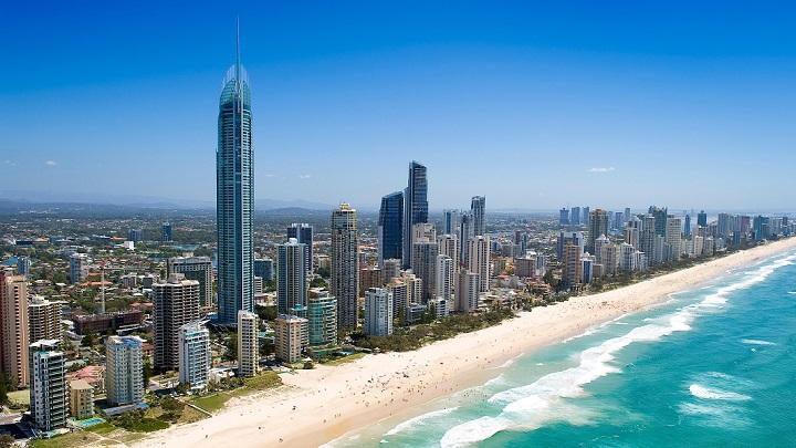 Surfers Paradise Beach Australia