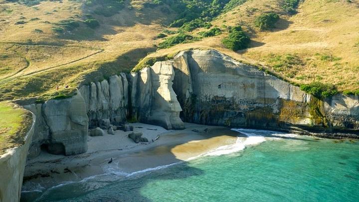Tunnel Beach Nueva Zelanda1