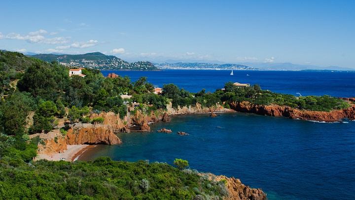 Calanque des Anglais Costa Azul