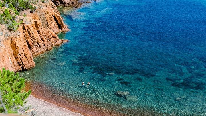 Calanque des Anglais Costa Azul1