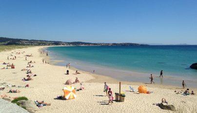 playa pontevedra