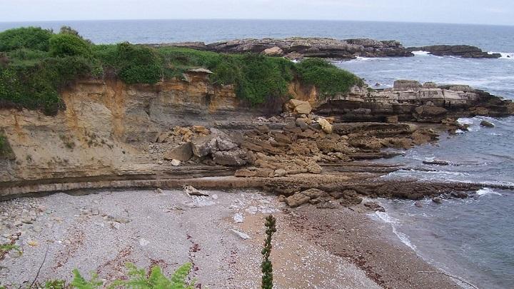 Playa de Antromero Asturias