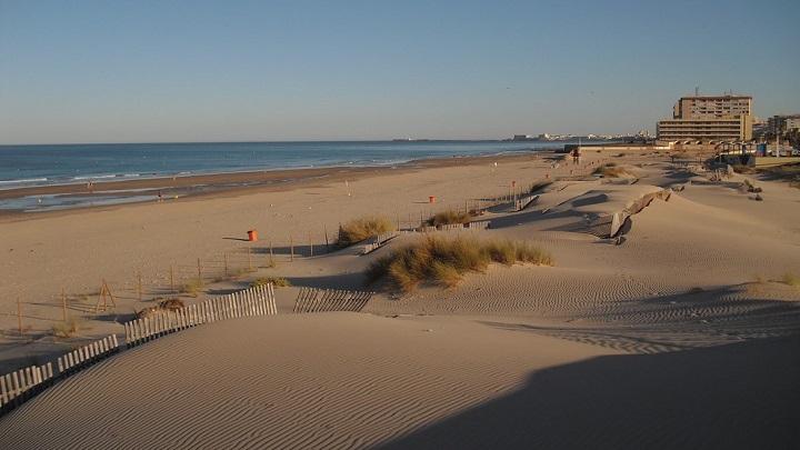 Playa de Cortadura foto