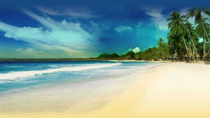 playa blanca foto