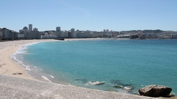 playa del orzan foto