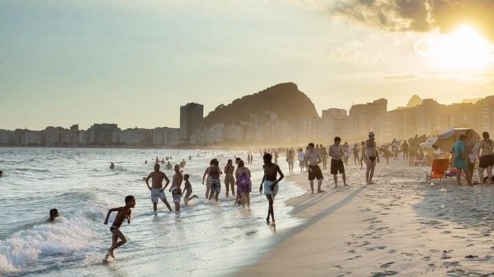 Copacabana-playa