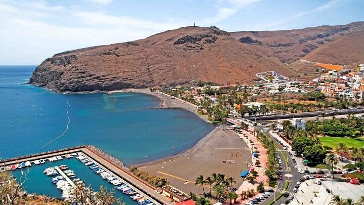 playa-de-San-Sebastian-La-Gomera