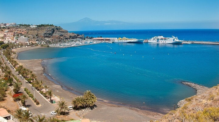 playa-recomendable-La-Gomera
