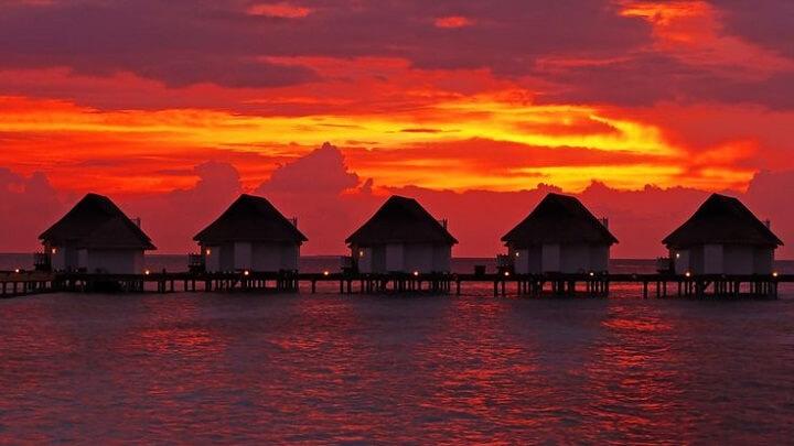 Motu-Tevairoa-sunset