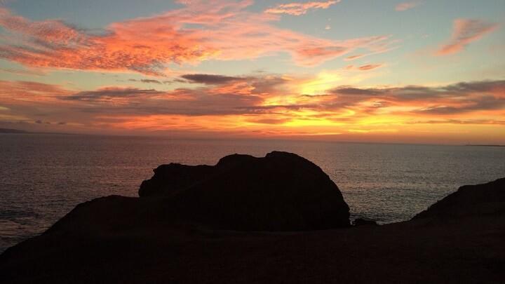 playa-de-Papagayo-puesta-de-sol