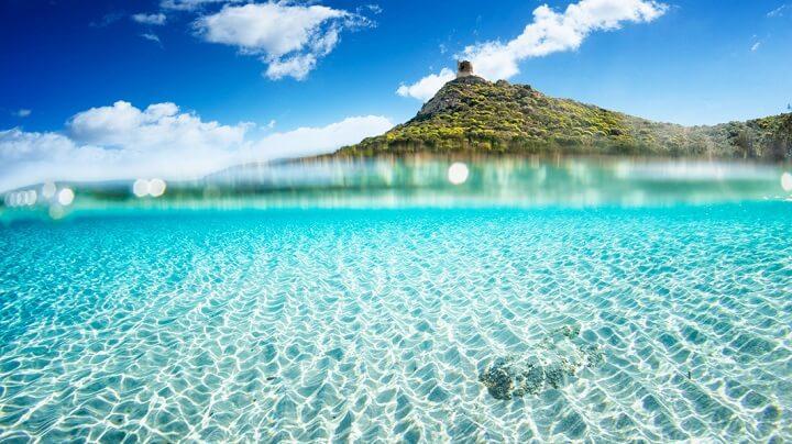 playa-agua-Cerdena